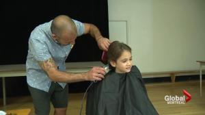 Royal Vale student, 6, shaves head for good cause